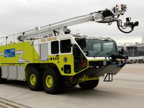 Oshkosh Polska lotniskowy samochód pożarniczo gaśniczy ARFF wozy strażackie Stricker PolskaStriker 4500