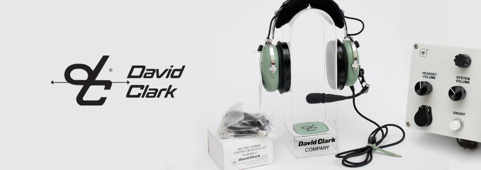 Słuchawki dla pilotów David Clark