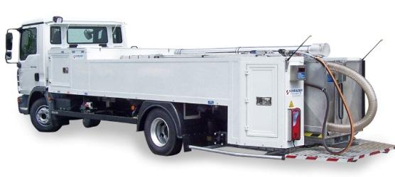 Toilet Service Truck Schrader Poland Navox