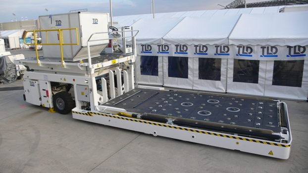 High Loader Samolotowy Lotniskowy podnośnik palet kontenerów lotniczych Cargo TLD Polska