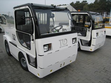 Lotniskowy Sprzęt TLD GSE Ciągniki bagażowe elektryczne
