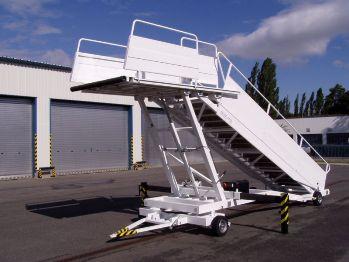 Lotniskowe Schody Pasażerskie Samolotowe Navimor Polska
