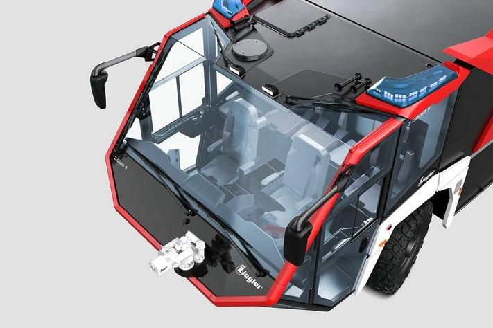 ZIEGLER Z8-Turret - trzyosiowy samochód 6 x 6